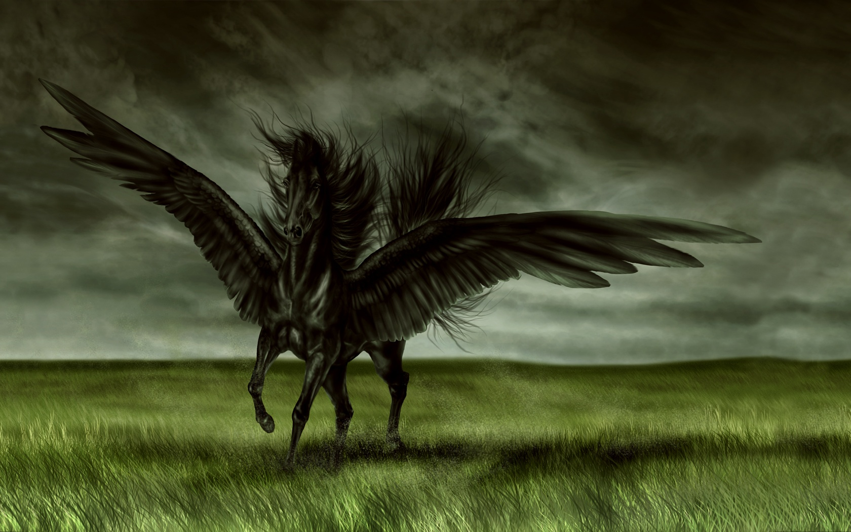 Cool Wallpaper Horse Purple - dark_fantasy_wallpaper_magic_horse-1680x1050  Collection_615691.jpg